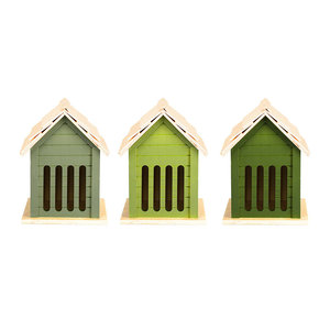 Esschert Design Butterfly House | Assorted Green Shades