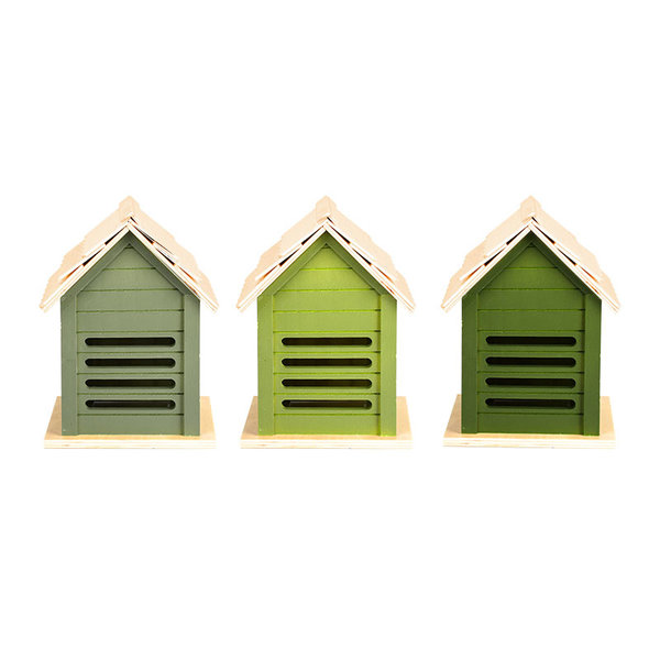 Esschert Design Ladybug House | Assorted Green Shades