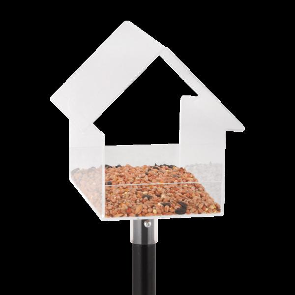Esschert Design Bird Table House | Acrylic w/ Stick