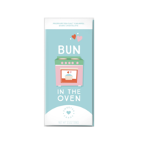Sweeter Cards Chocolate Bar Card | Bun in the Oven