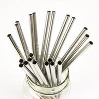 DHgate Straw   Stainless Steel   Single