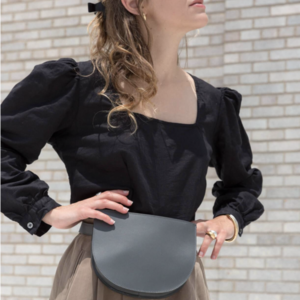 Crescent Belt Bag | Half Moon | Grey