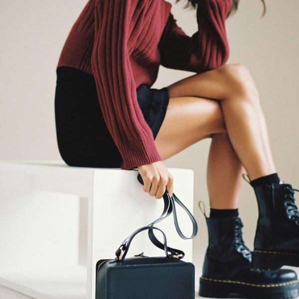 Minor History Crossbody Bag | The Box | Grey