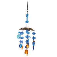 Moksha Imports Mobile Chime | Blue Light