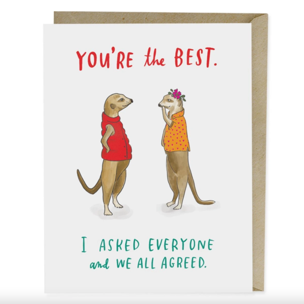 Emily McDowell Card | You're the Best