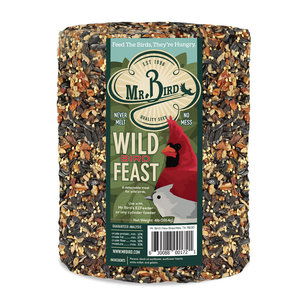 Mr. Bird Bird Seed Cylinder | WildBird Feast | Large