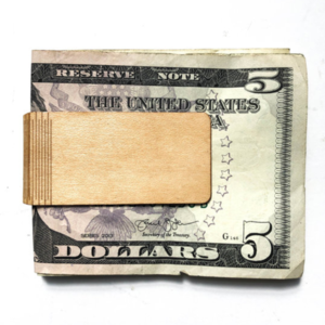 Autumn Summer Money Clip | Wood