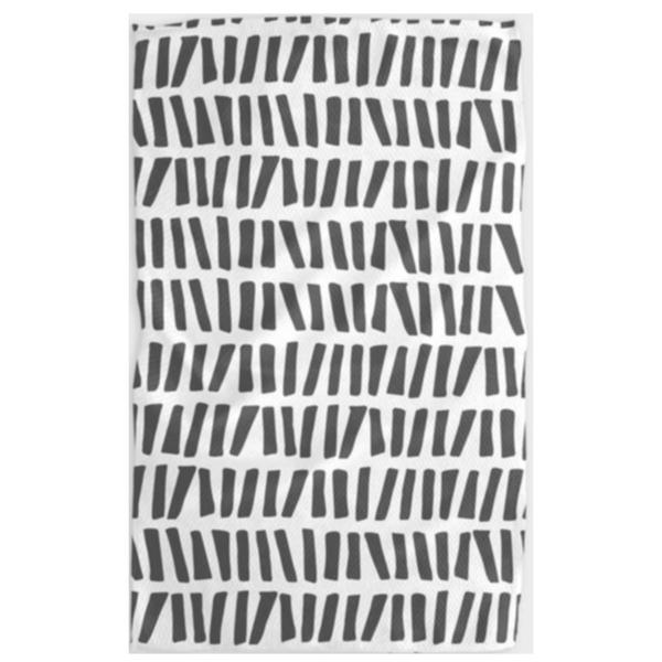 Geometry House Tea Towel | Microfiber | All Lined Up