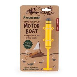 Kikkerland Toy | Motor Boat | Make-Your-Own