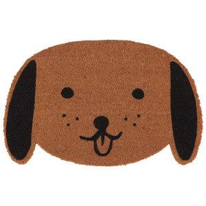 Now Designs Doormat   Shaped Dog