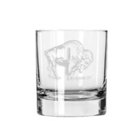 Ink & Etch Rocks Glass | OKC Skyline Buffalo