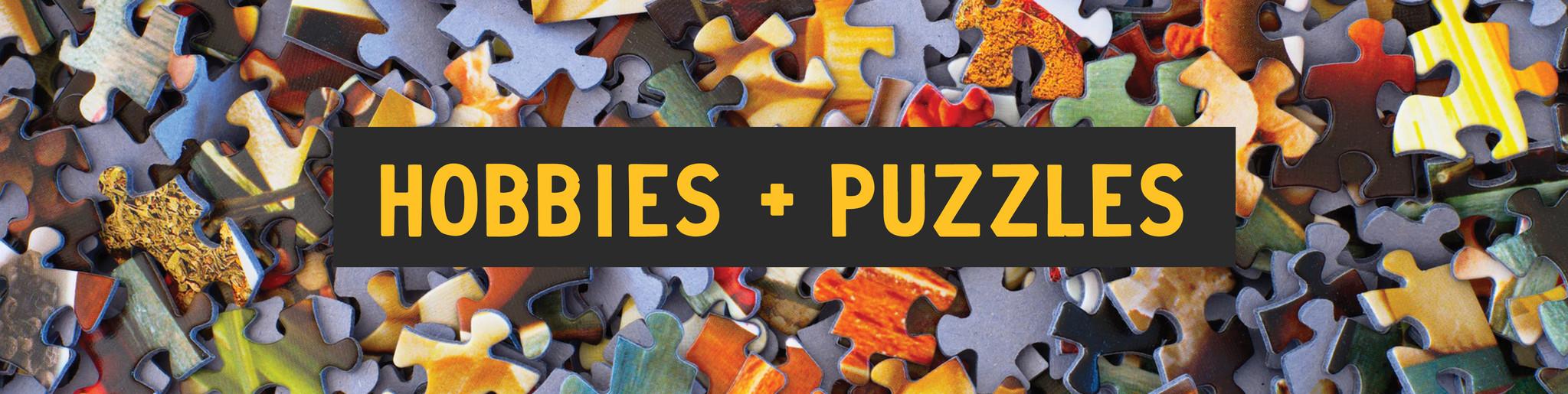 Hobbies + Puzzles