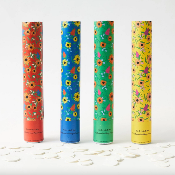 Fredericks & Mae Confetti Cannons | Wildflower Seed Paper