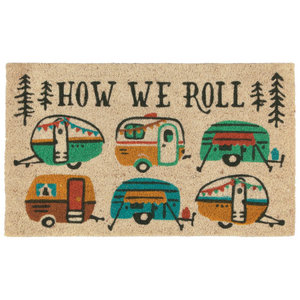Now Designs Doormat   Happy Camper