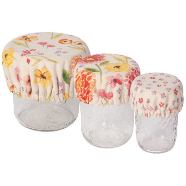 Now Designs Bowl Cover | Set of 3 Minis | Cottage Floral