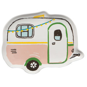 Now Designs Shaped Dish | Happy Camper