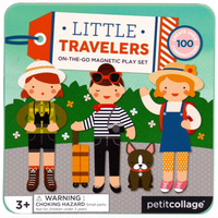 Chronicle Books Playset | Magnetic Little Travelers
