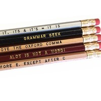 Fly Paper Wood Pencil Sets