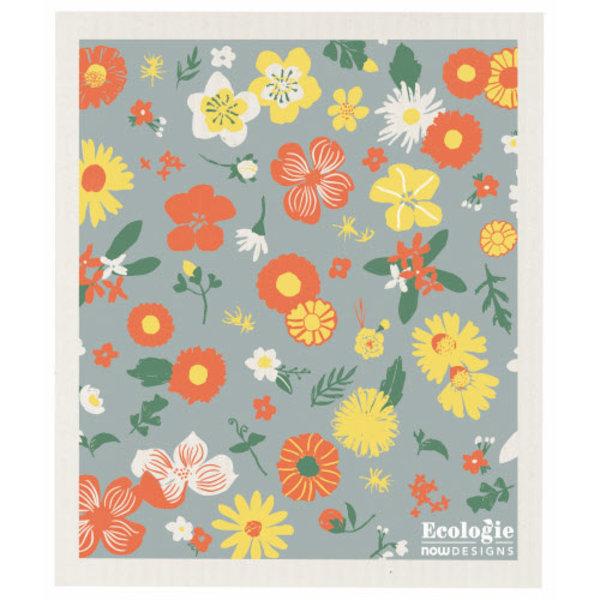 Now Designs Swedish Dishcloth | Flowers of Month