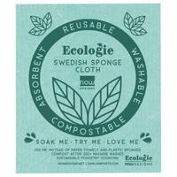 Now Designs Swedish Dishcloth | Green Love