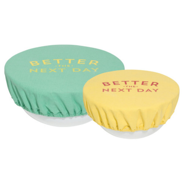 Now Designs Bowl Cover | Set of 2 | Better Next Day