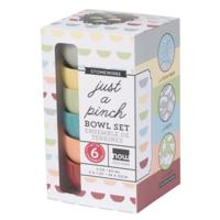 Now Designs Pinch Bowls | Leaf | Set of 6