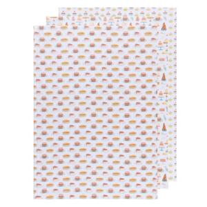 Now Designs Tea Towel Set | Baker's Floursack | Cake Walk