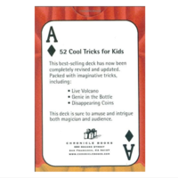 Chronicle Books Card Game | 52 Cool Tricks for Kids