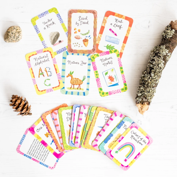 Chronicle Books Card Game   52 Nature Activities