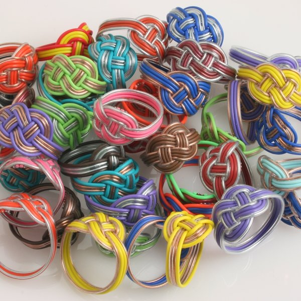Steve Parkes/The East Africa Co. Ring | Upcycled Telephone Wire
