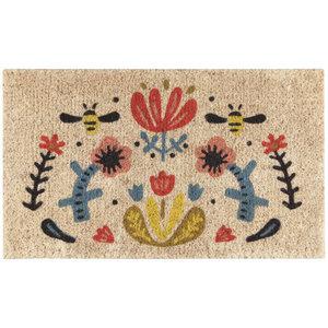 Now Designs Doormat   Coir Fiber   Frida