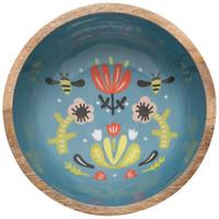 Now Designs Serving Bowl   Mango Wood   Frida