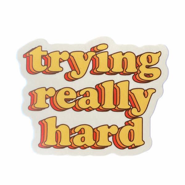 Stickers Northwest Sticker | Trying Really Hard