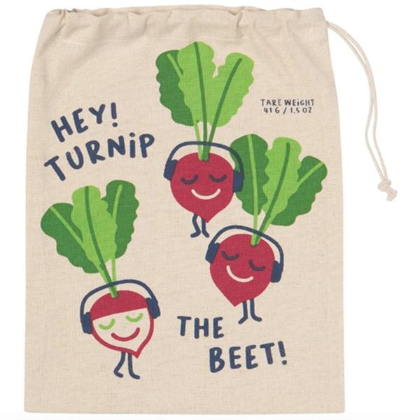 Now Designs Produce Bag   Set/3   Funny Food