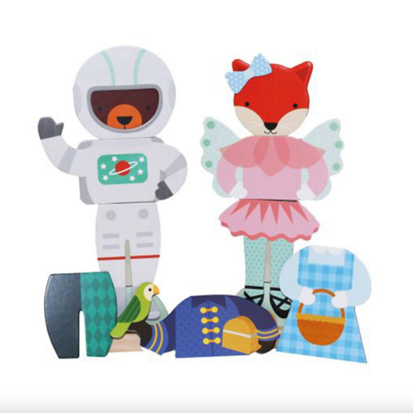Chronicle Books Playsets | Magnetic Dress Up