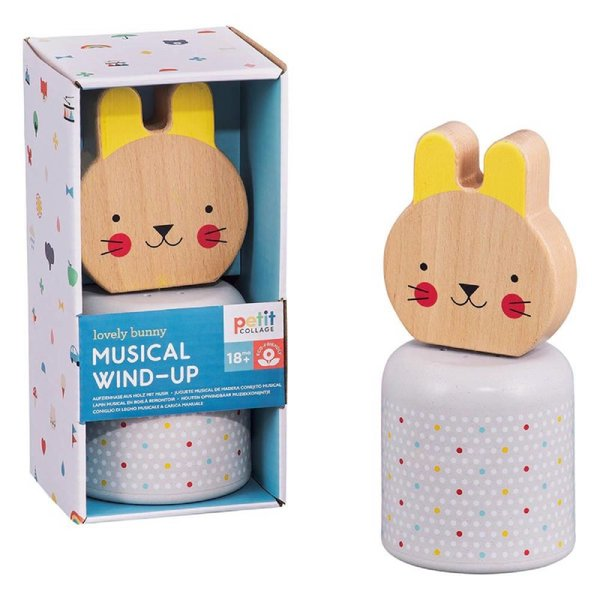 Chronicle Books Toy   Musical Wind-up   Lovely Bunny