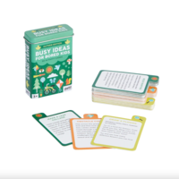 Chronicle Books Activity Cards Tin | Busy Ideas