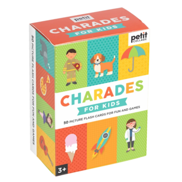 Chronicle Books Card Game   Charades for Kids