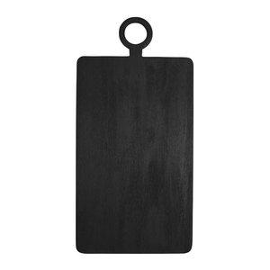 Be Home Cutting Board | Black Mango Wood | Extra Large Rectangular