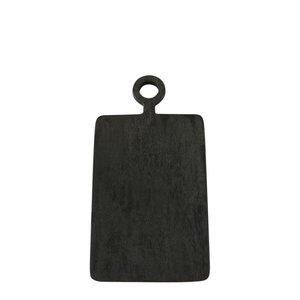 Be Home Cutting  Board | Black Mango Wood | Mini Rectangular