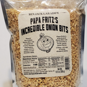 Ben Jack Larado's Onion Bits | Papa Fritz