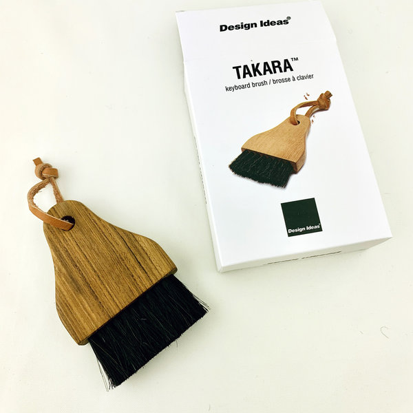 Texture Home Keyboard Brush | Wood