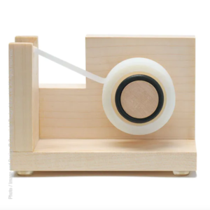 Texture Home Tape Dispensers | Wood