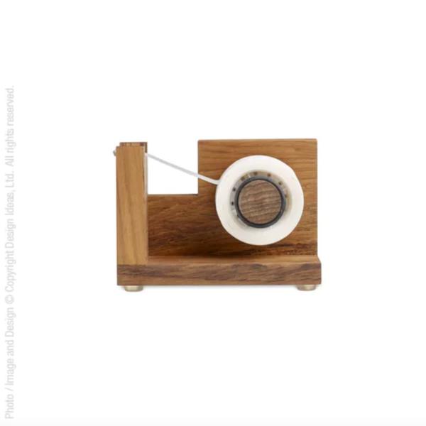 Texture Home Tape Dispenser | Wood