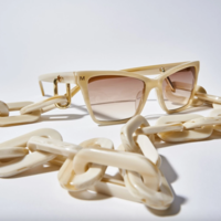 MACHETE Eyeglass Chain | Chunky Alabaster