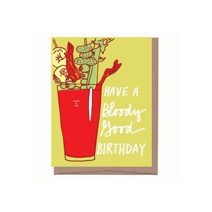 La Familia Green Card | Bloody Mary Bday