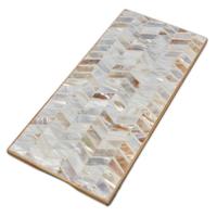 Be Home Board | Shell Mosaic & Bamboo | Rectangular