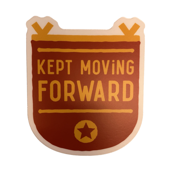 Stickers Northwest Sticker | Kept Moving Forward