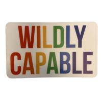 Stickers Northwest Sticker   Wildly Capable