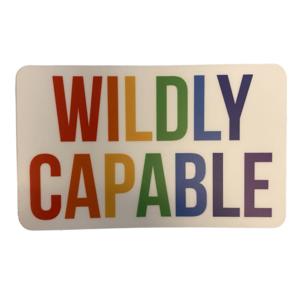 Stickers Northwest Sticker | Wildly Capable